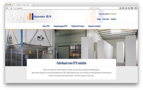 Isoveen - realisatie internetsite - ocsupport