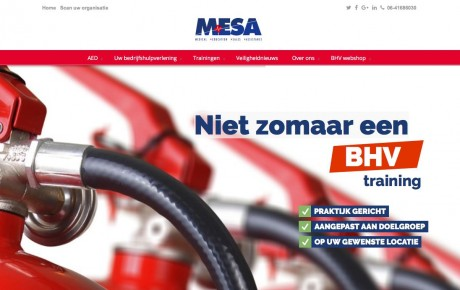 MESA nieuwe website